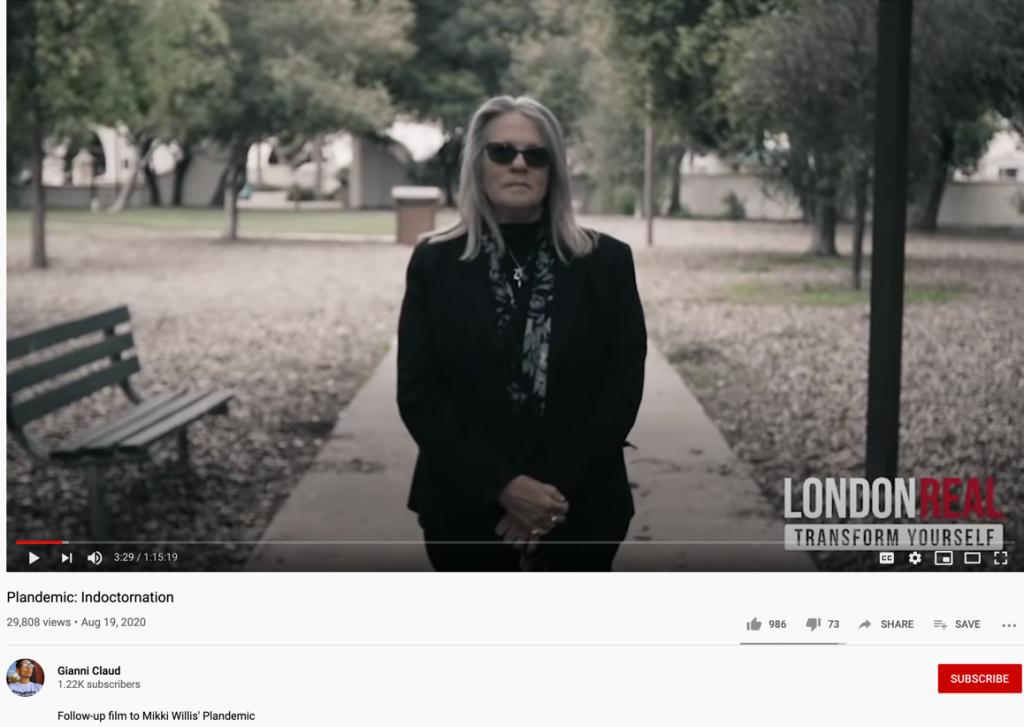 Plandemic 2 YouTube upload2
