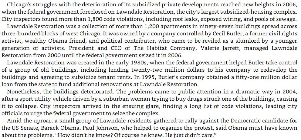 Burgess Owens plagiarism: Lawndale Restoration image text