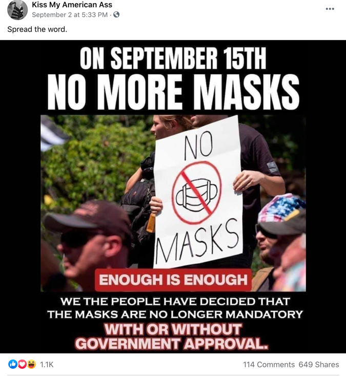 Facebook mask meme2