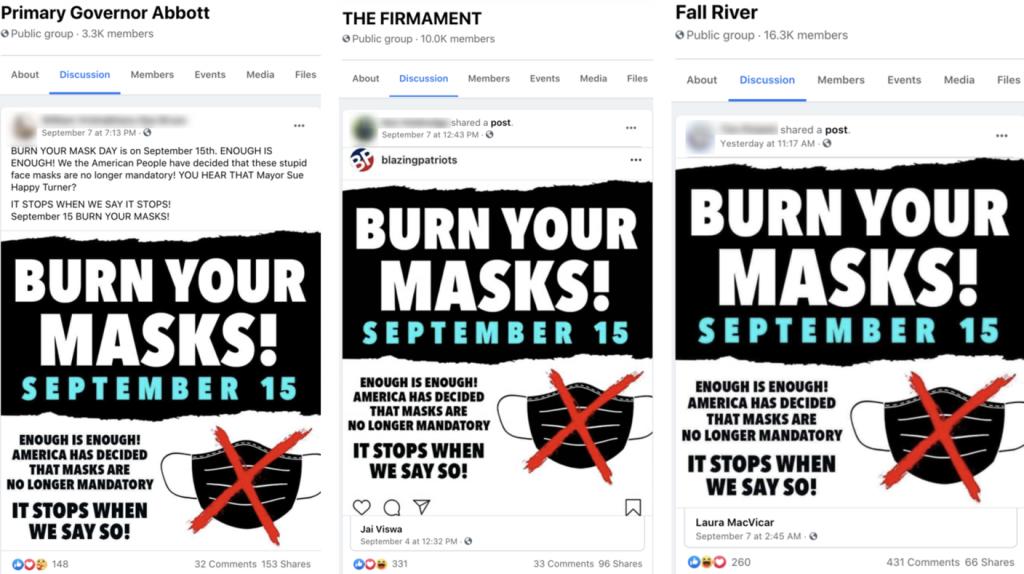 Facebook mask meme groups2