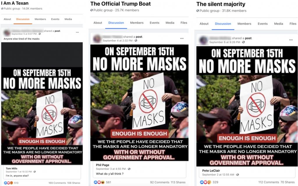 Facebook mask meme groups3