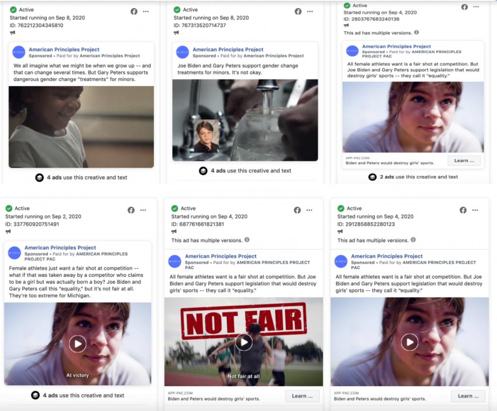 APP anti-trans Facebook ads 9.9.20