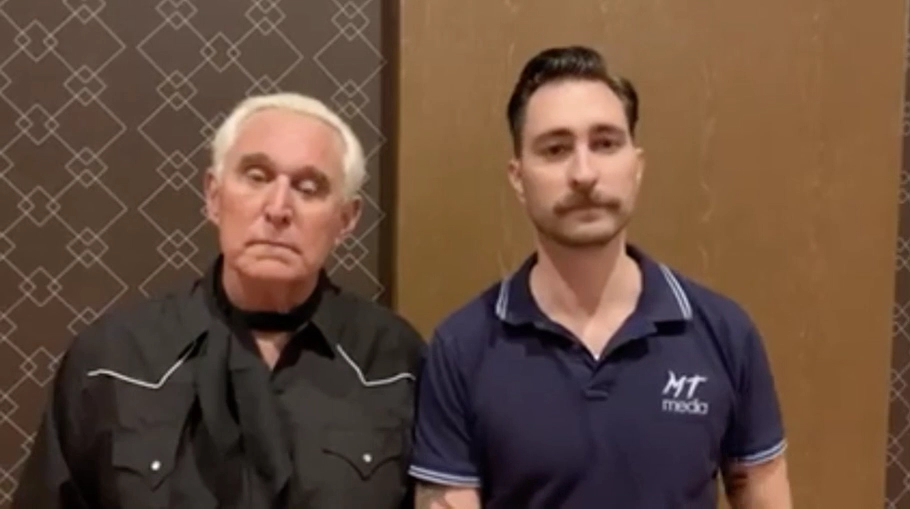 Roger Stone with Nick Ochs