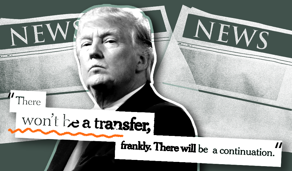 trump transfer of power