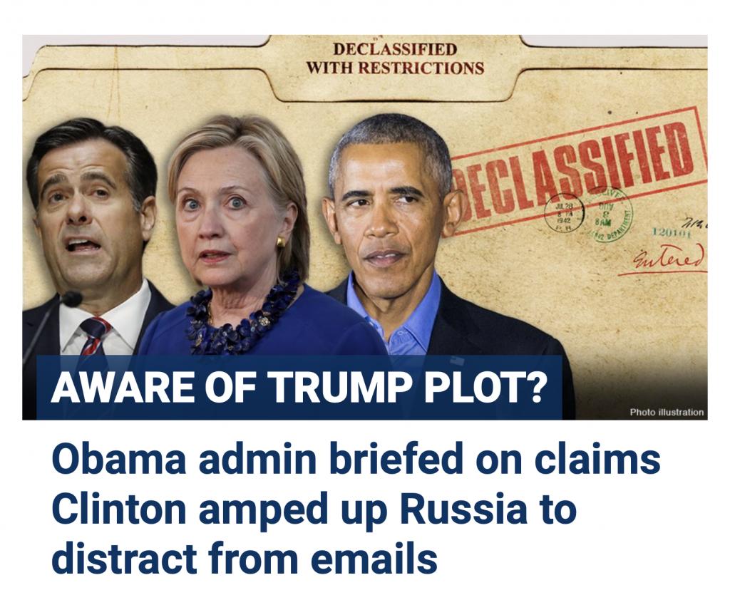 Trump Ratcliffe DNI Russia 9/29/20