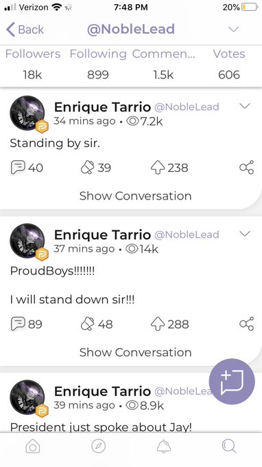 Enrique Tarrio Proud Boys