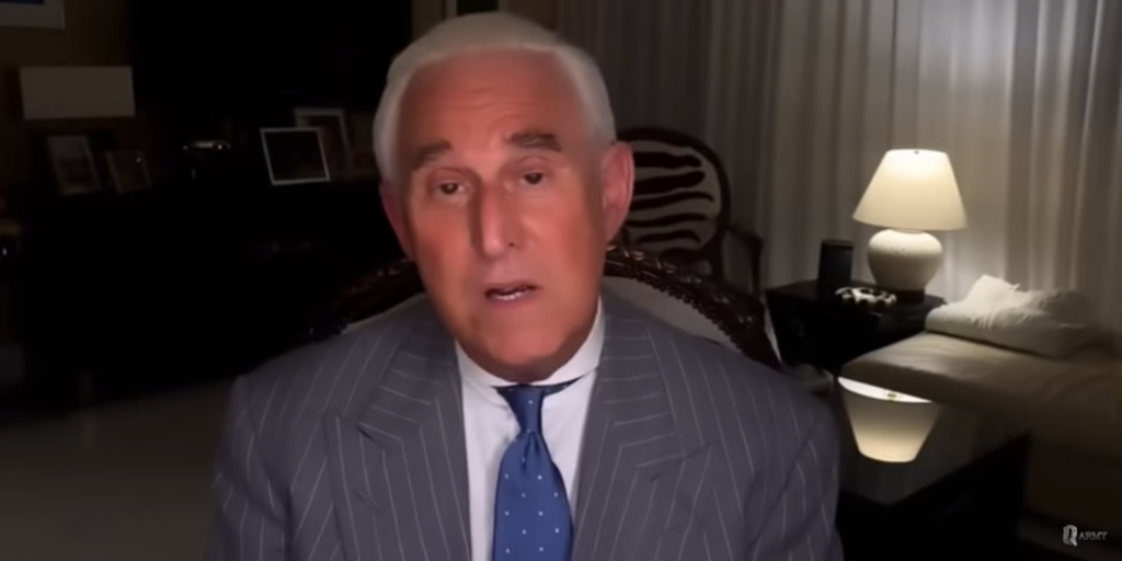 Roger Stone on QAnon YouTube channel