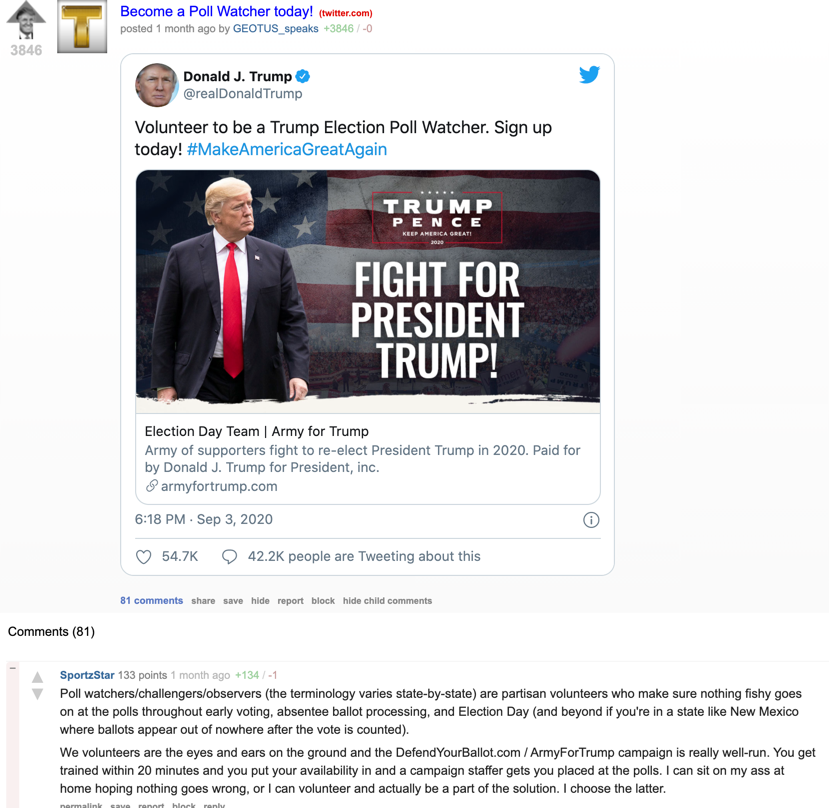 TheDonald Trump campaign spinoff URL1