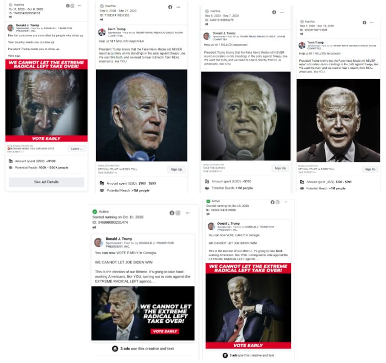 photoshopped images of Biden looking older