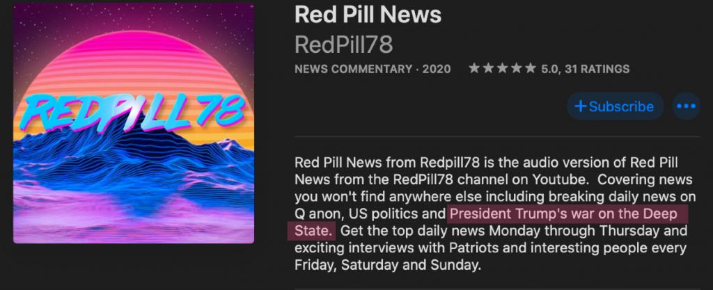 Red Pill News - war on the deep state