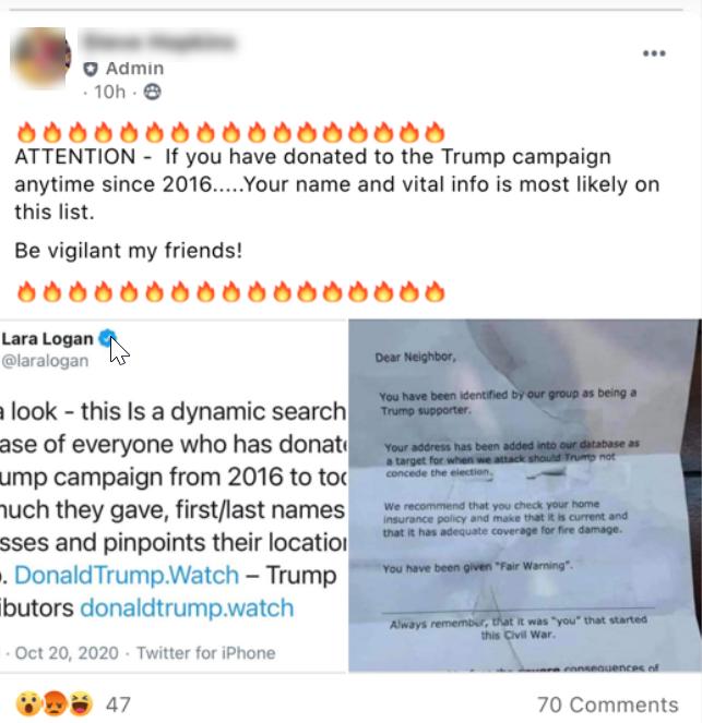 Voter disinfo QAnon flier #2