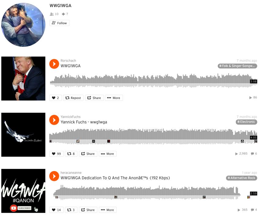 SoundCloud QAnon5