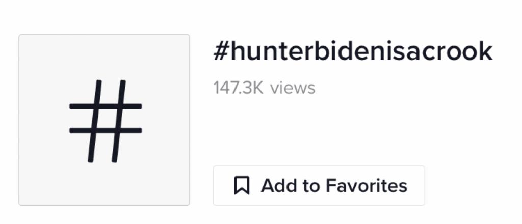 #HunterBidenIsACrook