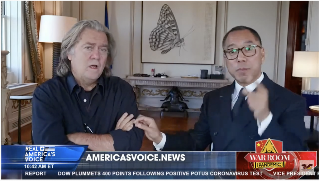 Bannon and Miles Guo interview