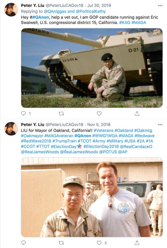 Peter Liu QAnon Twitter