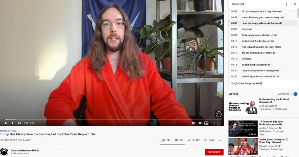 YouTube election misinfo4
