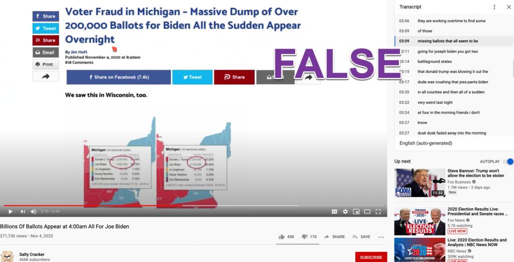 YouTube election misinfo5