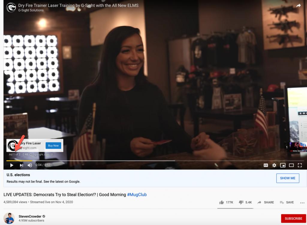 Crowder election video ads