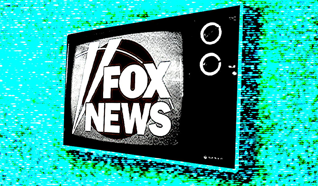 TV with Fox logo
