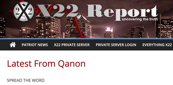 X22 Report QAnon