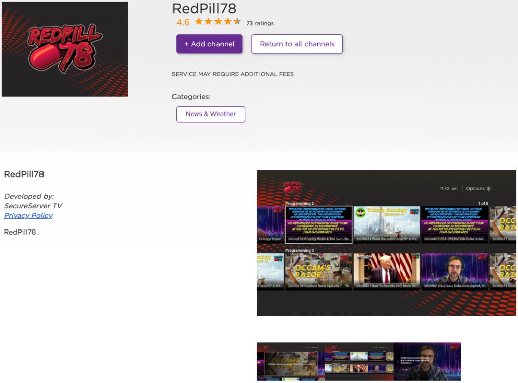 RedPill78 Roku