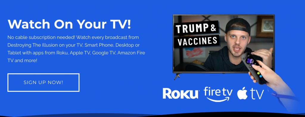 Destroying the Illusion Apple TV Amazon Fire