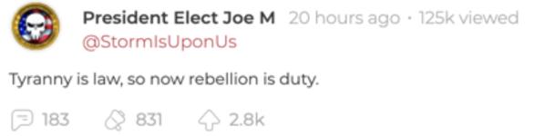 JoeM violence