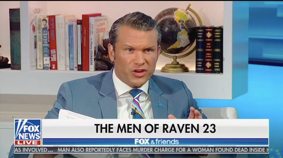 Pete Hegseth on Fox News