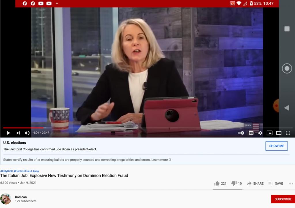 YouTube voter fraud7