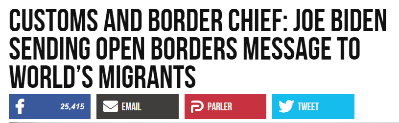 Breitbart headline