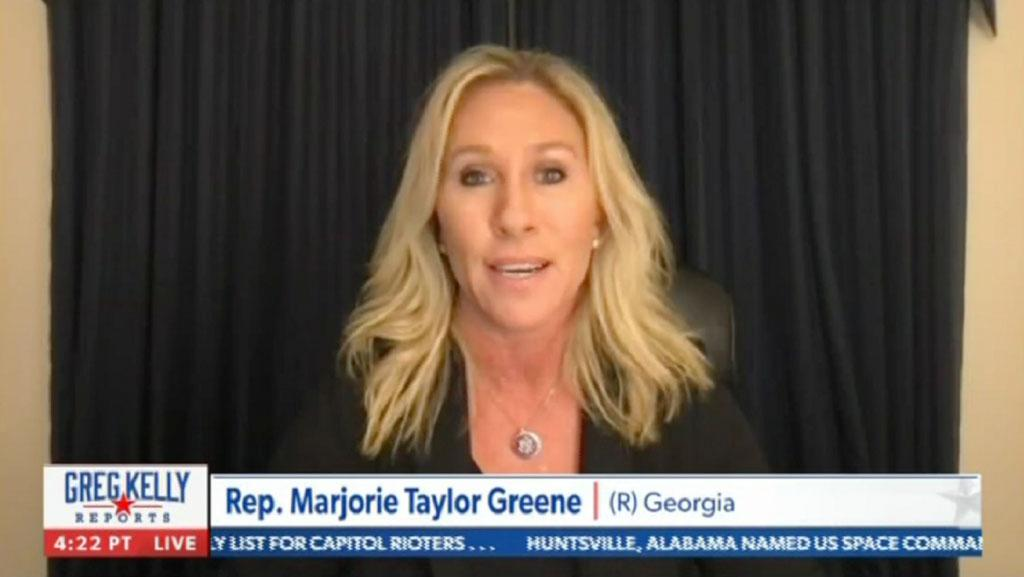 Marjorie Taylor Greene on Newsmax