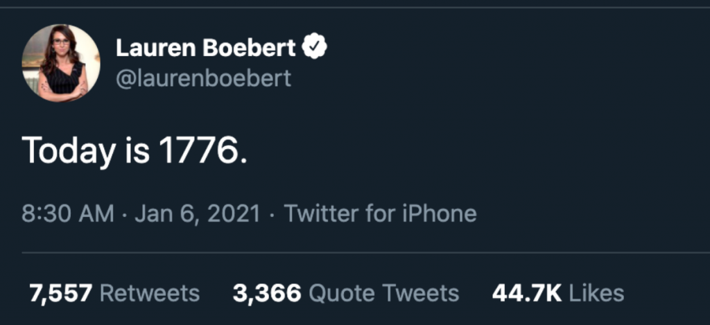 Lauren Boebert 1776