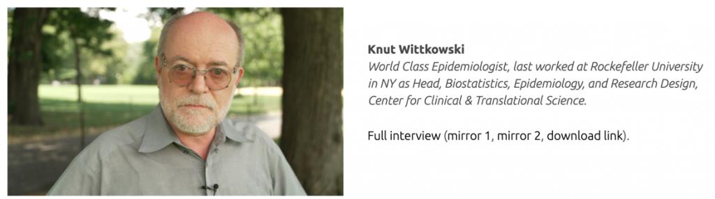 Knut Wittkowski Planet Lockdown