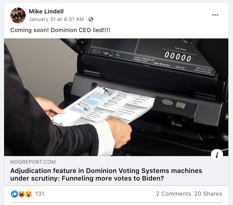 Dominion CEO lied!