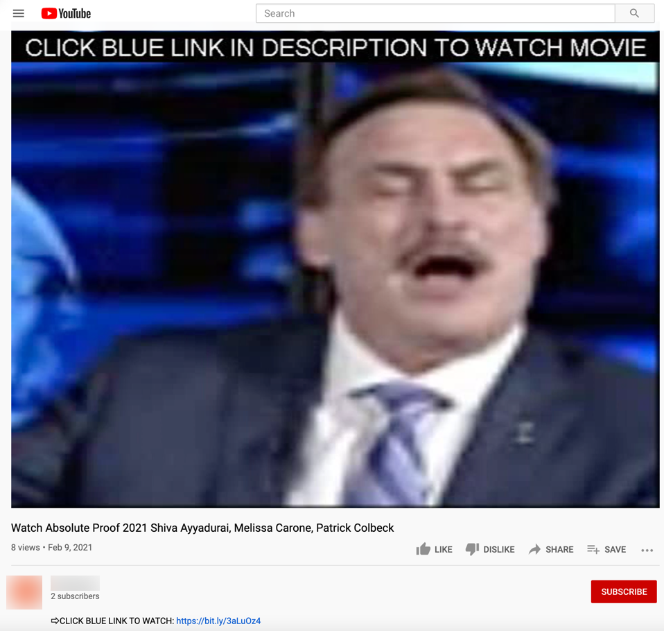 image of youtube video