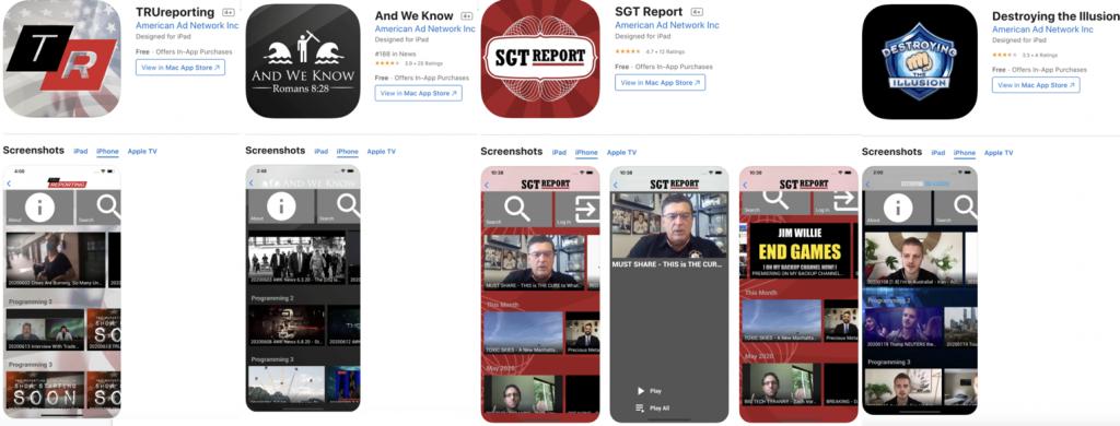 QAnon apps4