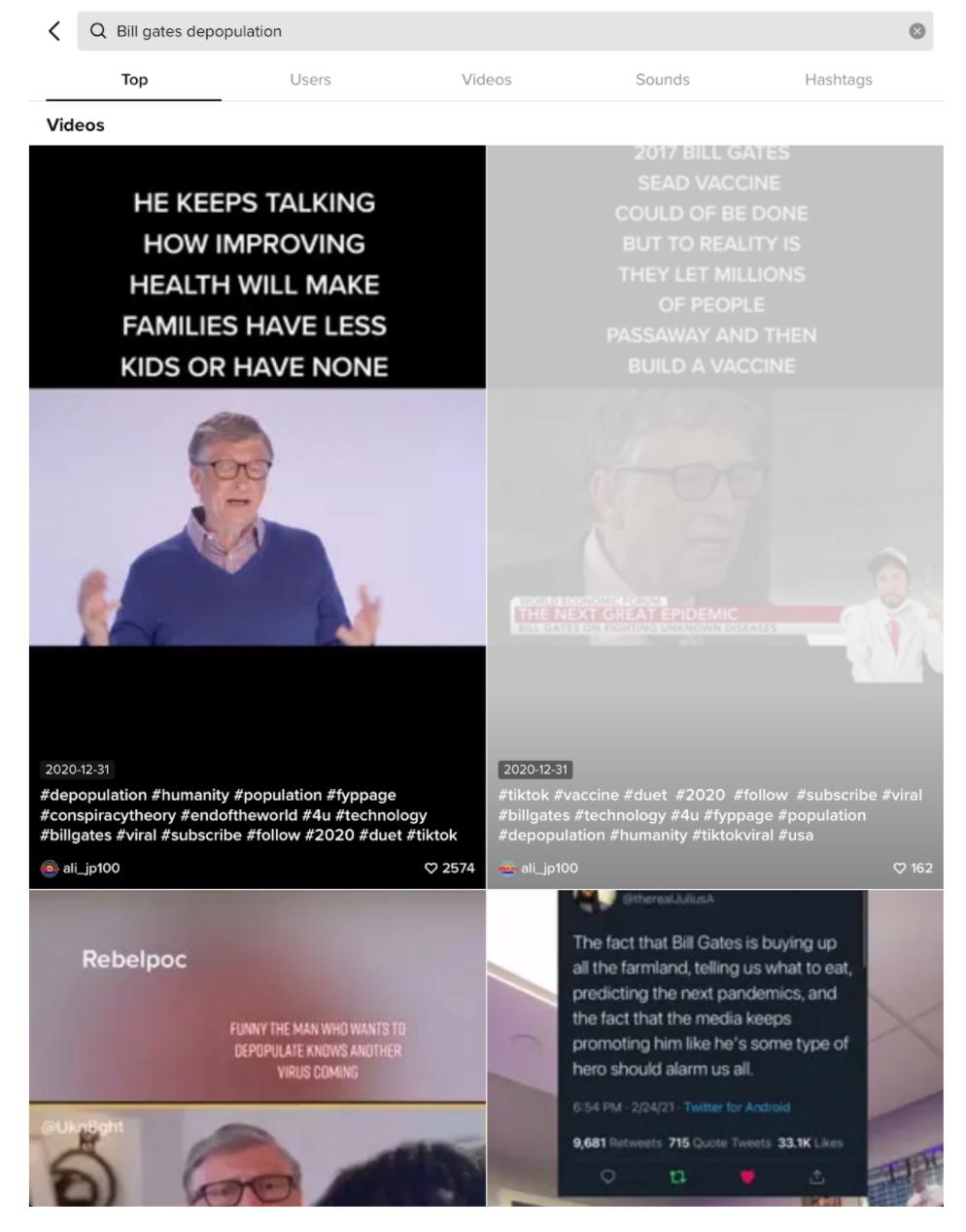 Bill Gates depopulation