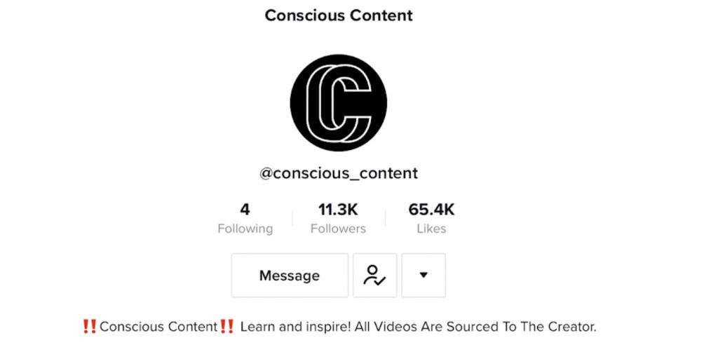 Conscious Content