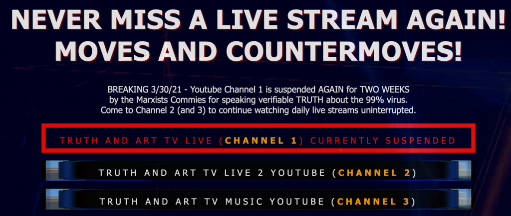 Truth and Art TV YouTube