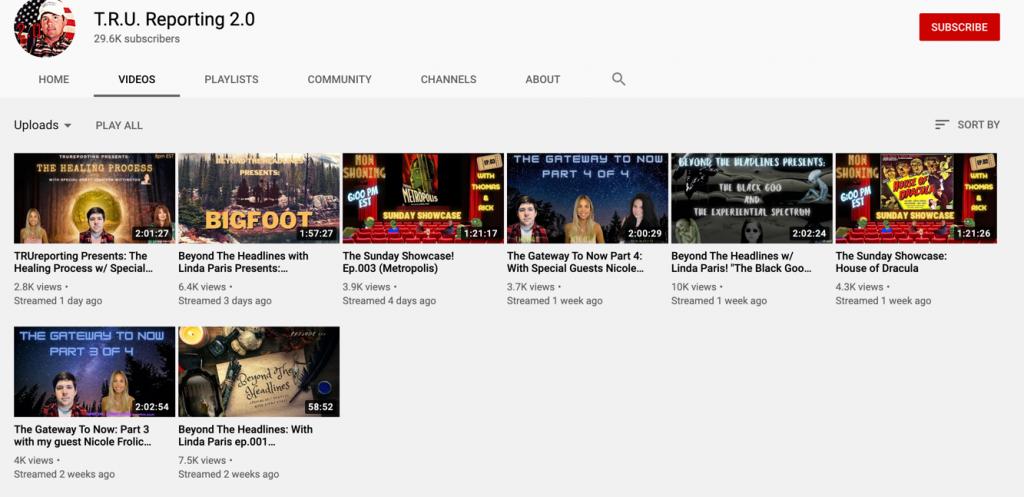 YouTube QAnon channels6
