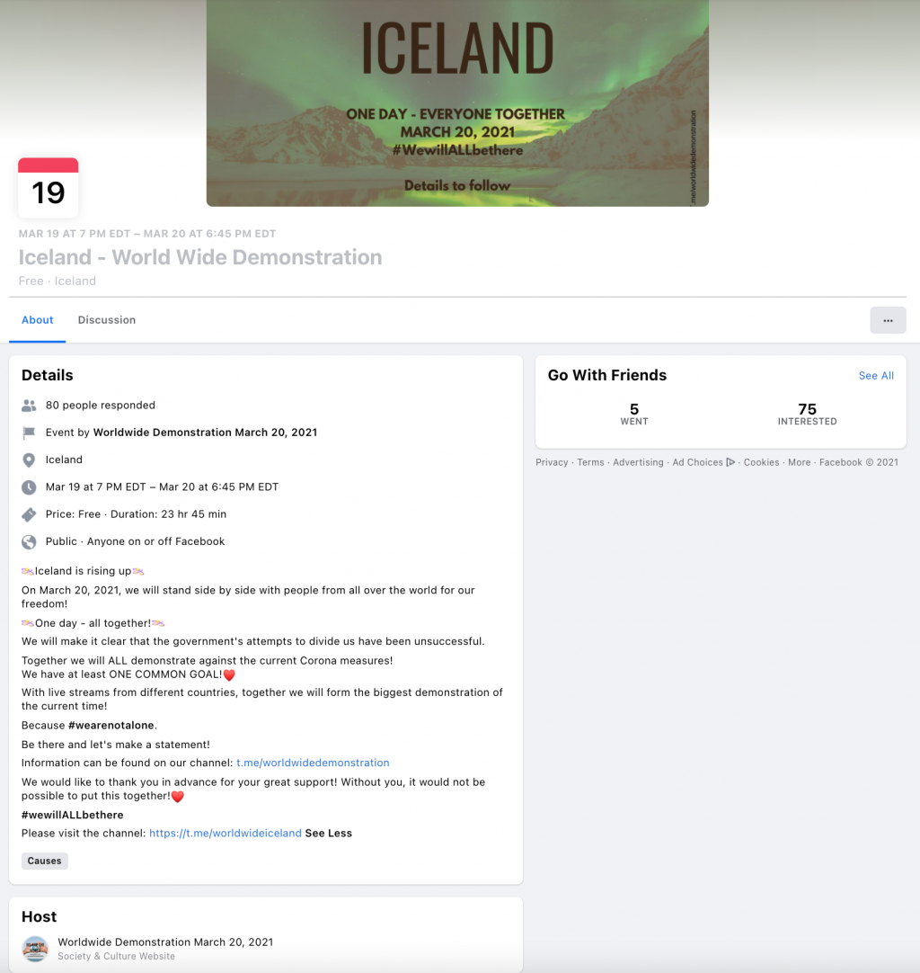 image of facebook event