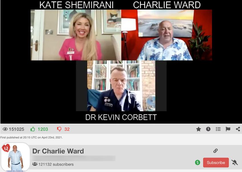 Kate Shemirani The Charlie Ward Show