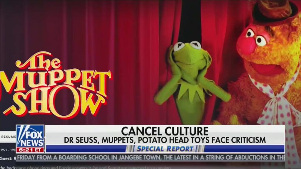 """Special report segment on The Muppets being """"canceled"""""""