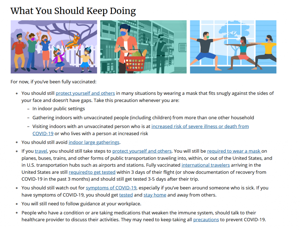 What you should keep doing