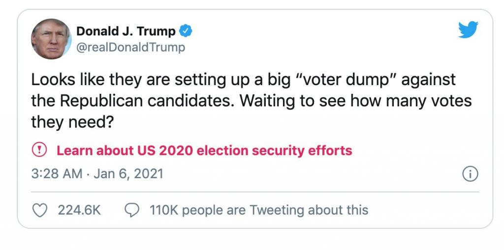 trump dump ga