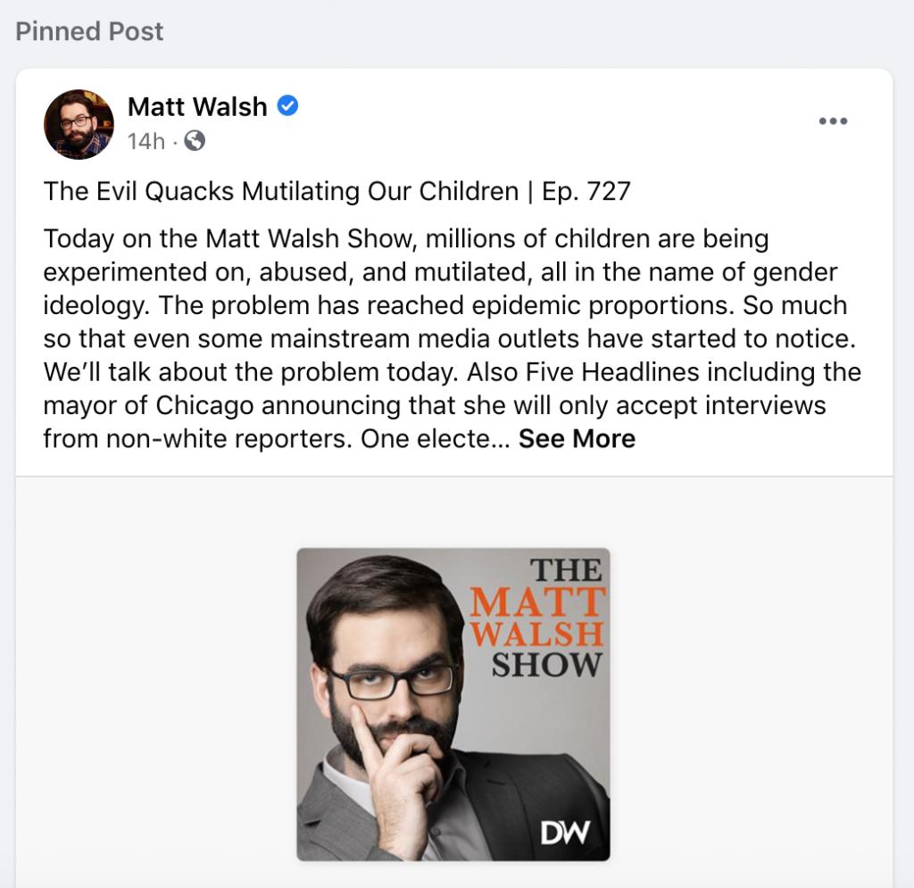 Walsh Facebook 5.24.21