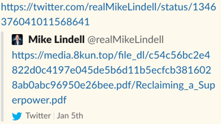 Mike Lindell 8kun