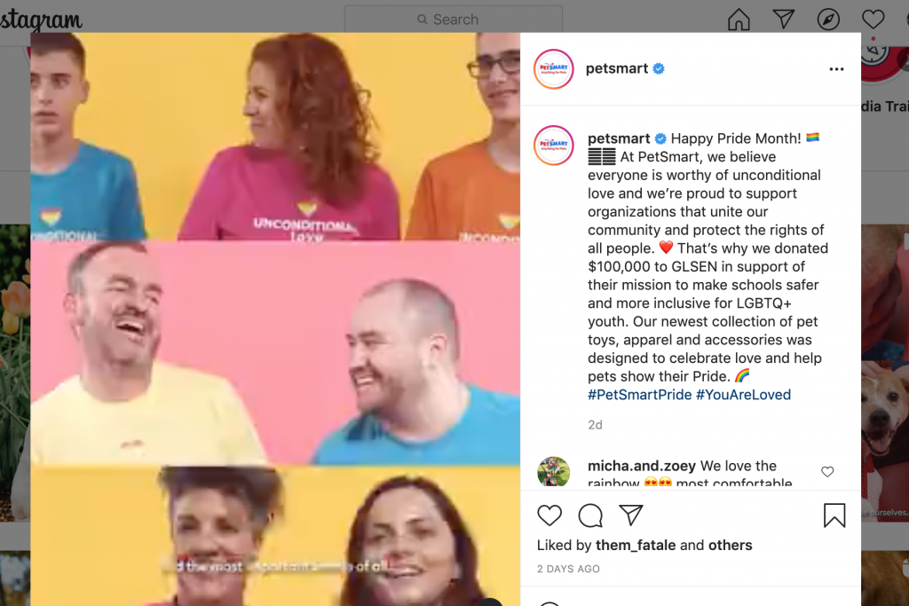 PetSmart Pride