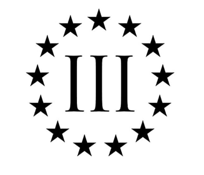 three percenter logo
