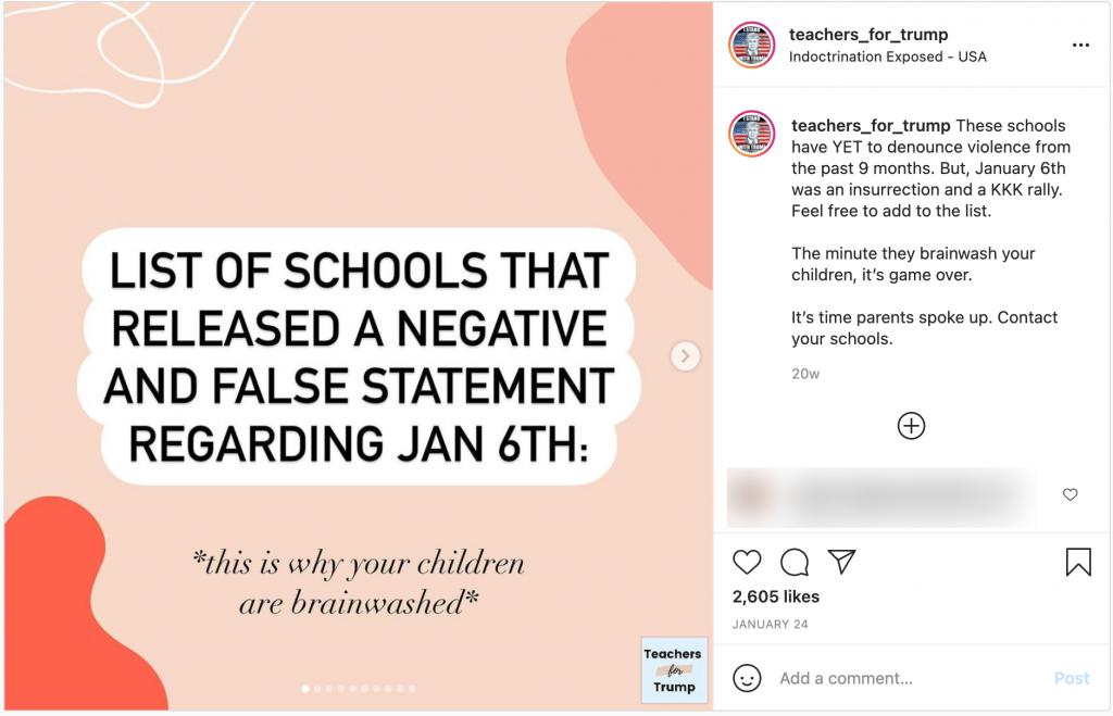 image of instagram post